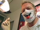 创意口罩,疯狂的牙医!