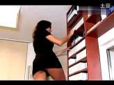 当美女秘书在你面前走光…诱惑啊!